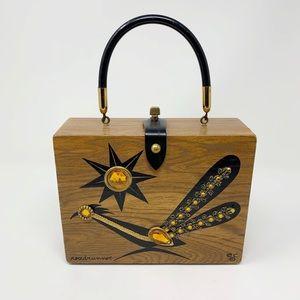 Vintage | Enid Collins Roadrunner Box Purse Bag